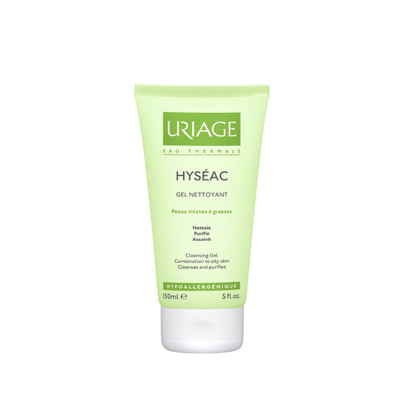 Uriage hyseac gel nettoyante 150ml