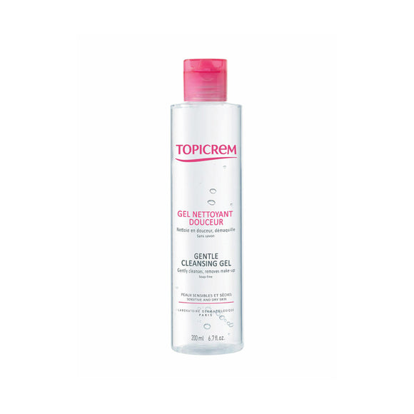 Topicrem uh gel limpiador 200ml