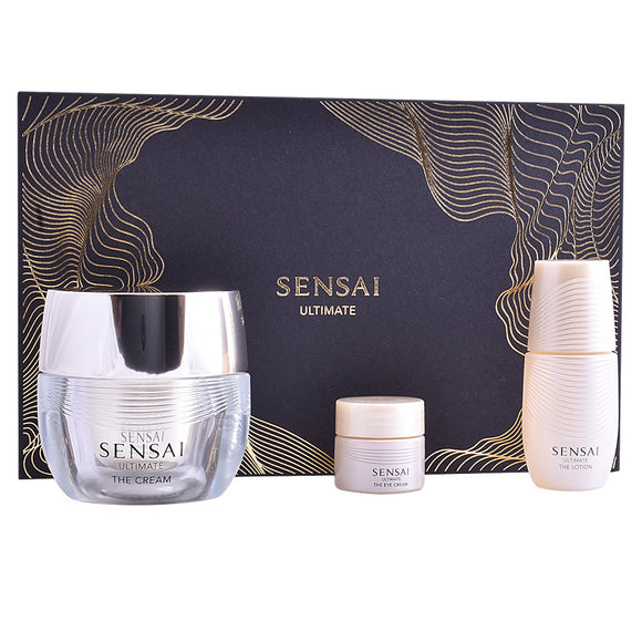 Sensai ultimate the creme 40ml + locion 16ml + crema ojos 4ml