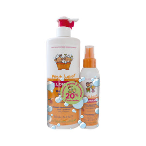 Klorane junior pack champu 500ml+spray