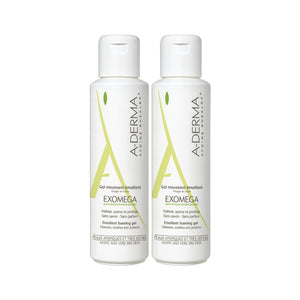 A derma exomega gel moussant 2x500ml