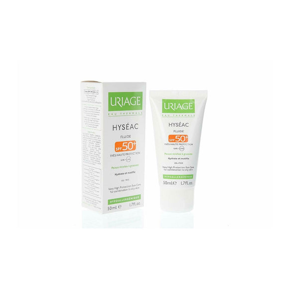 Uriage hyseac fluide spf 50 50ml
