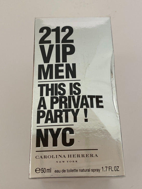 Carolina Herrera - Eau de Toilette 212 VIP Men 50 ml