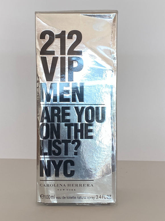 Carolina Herrera 212 VIP MEN eau de toilette vaporizador 100ml