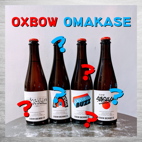 Oxbow 'Omakase' 4 Bottle Set