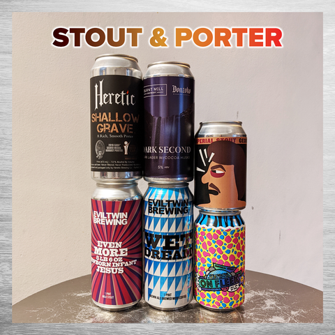 Stout & Porter Six Pack