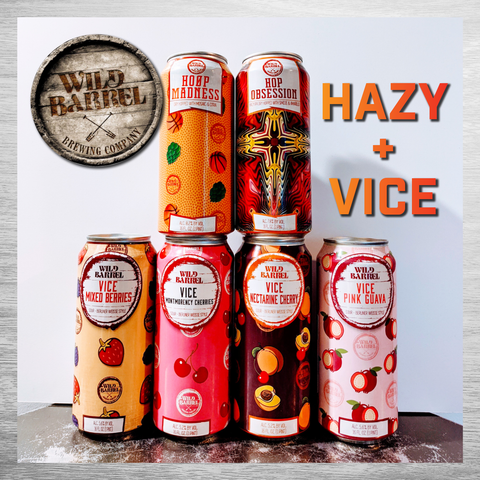 Wild Barrel Hazy + Vice Six Pack