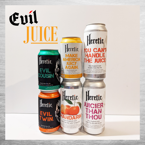 Heretic Evil Juice Six Pack