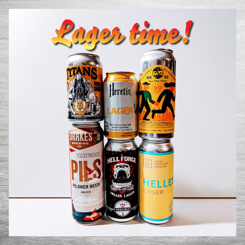 It's Lager Time!