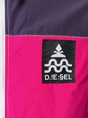 Diesel- Giacca a vento color-block