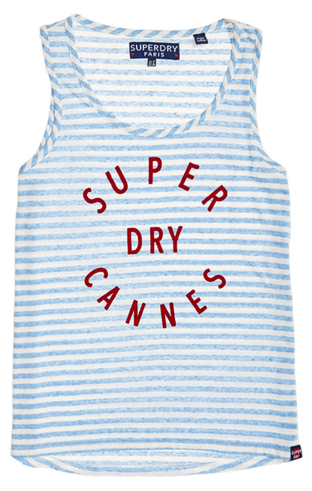 Superdry- Canottiera a righe Coast