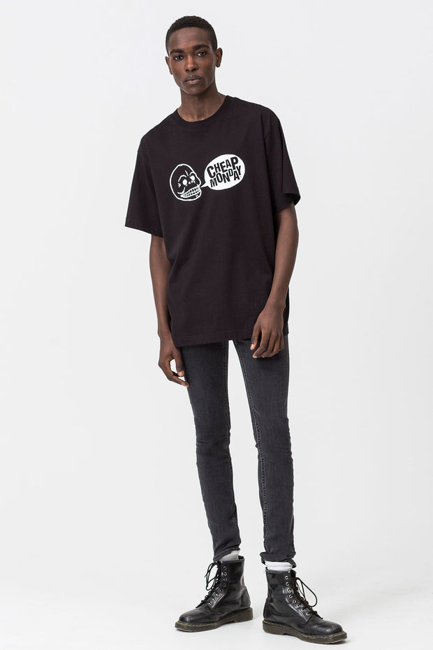T-Shirt girocollo Speech Logo Cheap Monday