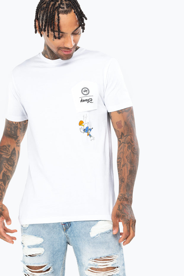 T-shirt Donald con taschino