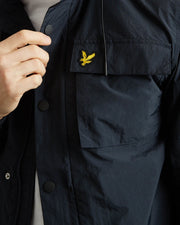 Lyle & Scott- Giacca in twill antivento