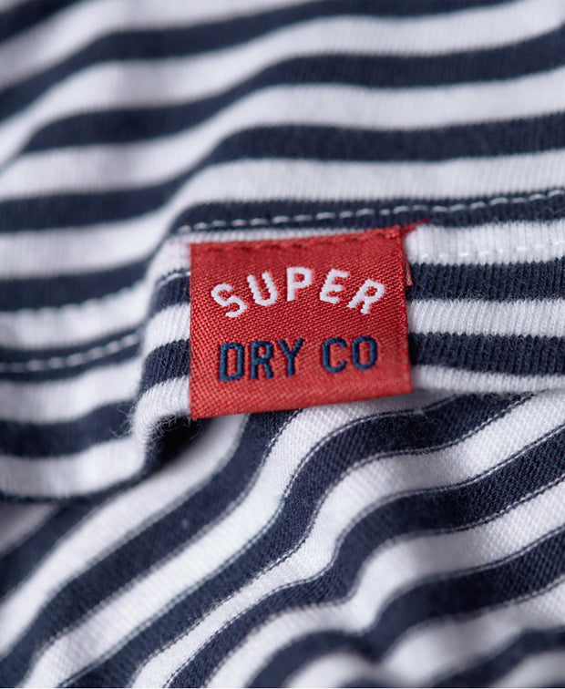 Superdry- T-shirt 54 Goods a righe