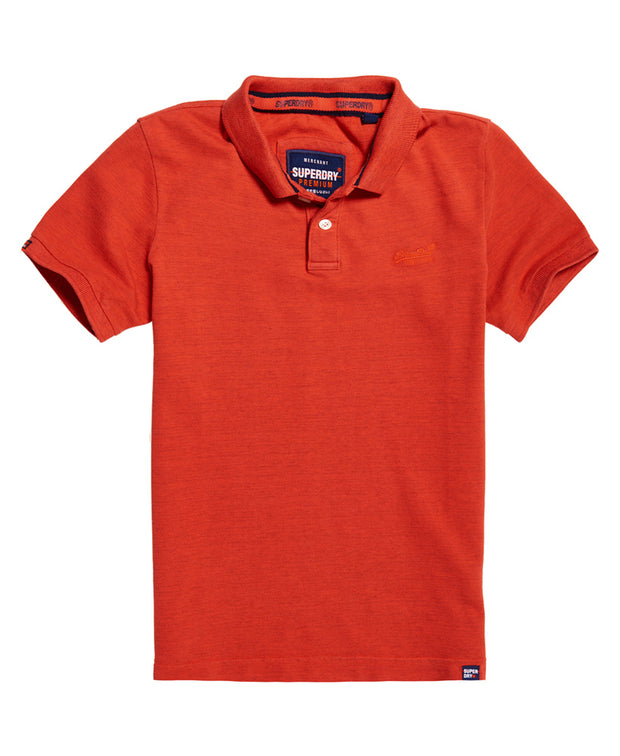 Superdry- Polo Vintage Destroyed