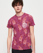 Superdry- T-shirt stampa all over