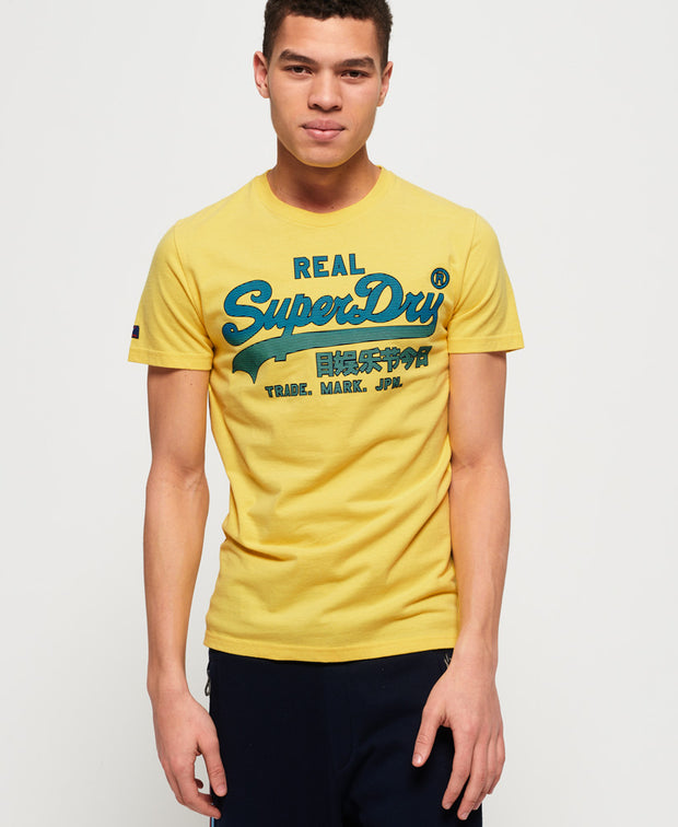 Superdry- T-shirt Real Vintage Logo