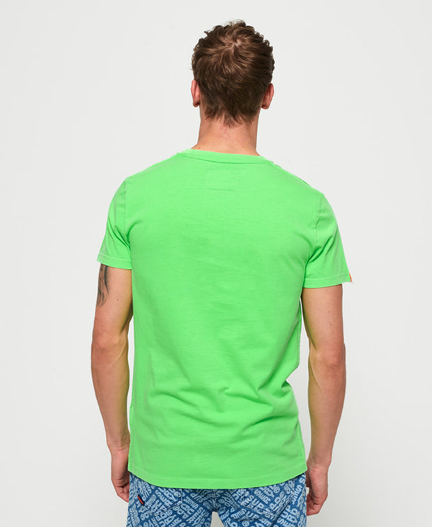 Superdry- T-shirt Orange Label Neon