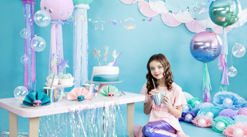 Video Tutorial: DIY Jellyfishes für die Mermaid Party