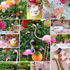 Wie alles begann bei in a box Tropical Flamingo Party in a box