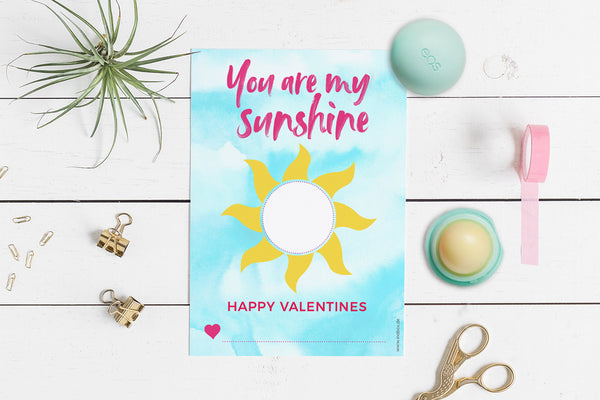 EOS Card Geschenk Valentinstag You are my Sunshine