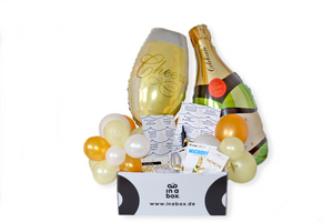 Cheers Silvester Party in a box - Deine fertige Silvester Party aus der Box
