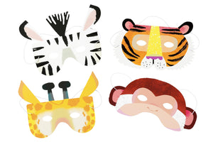 Let's get WILD in a box Tiermasken Animal Masks