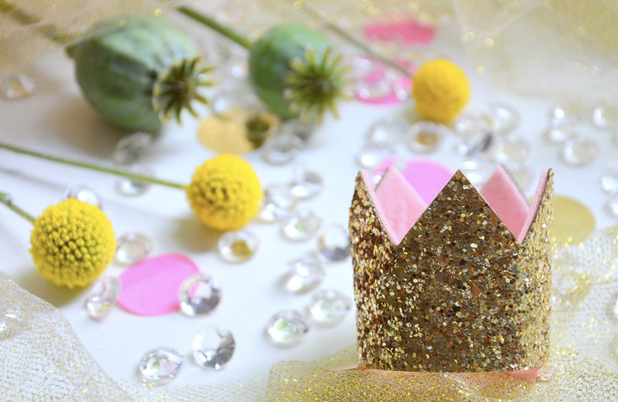 Sweet Princess in a box Haarspange goldene Krone