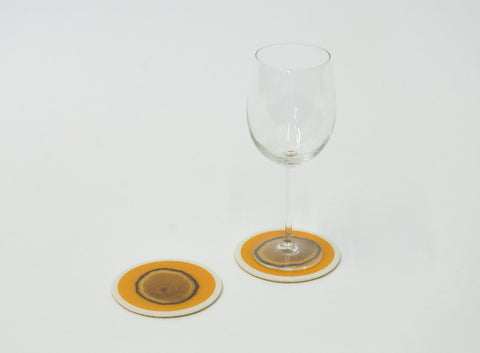 Citrus Orange Coaster (Single)