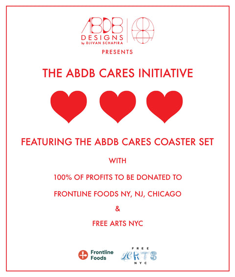 ABDB Cares Coaster Set