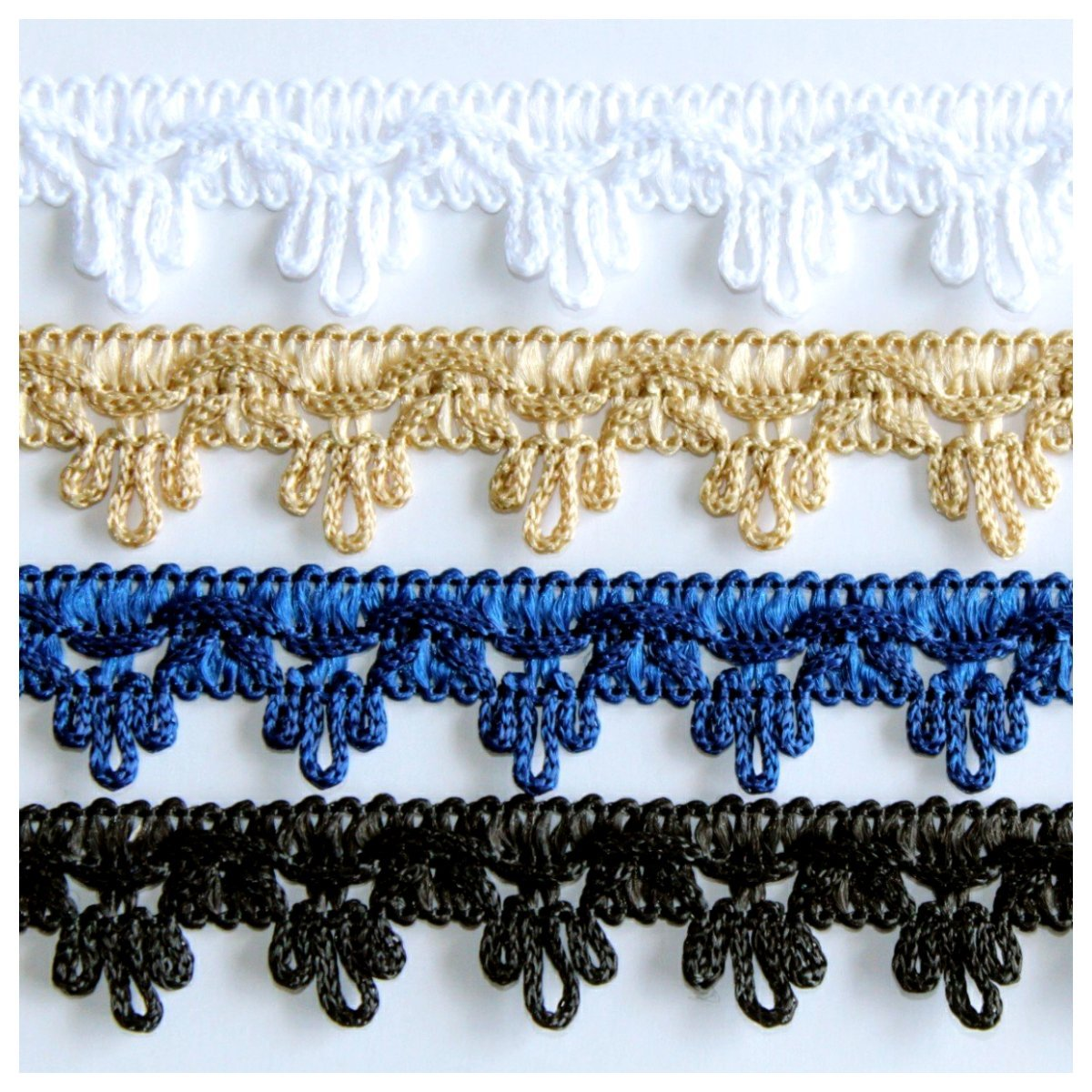 40m Mini Fringe Bundle - Free Worldwide Shipping- Sew Royal US