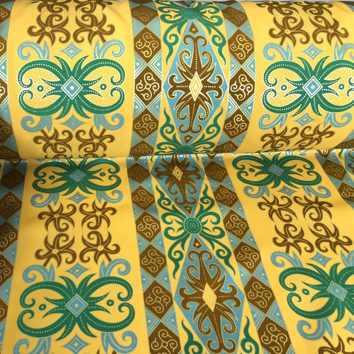 Yellow Regal Polyester Fabric - Sew Royal
