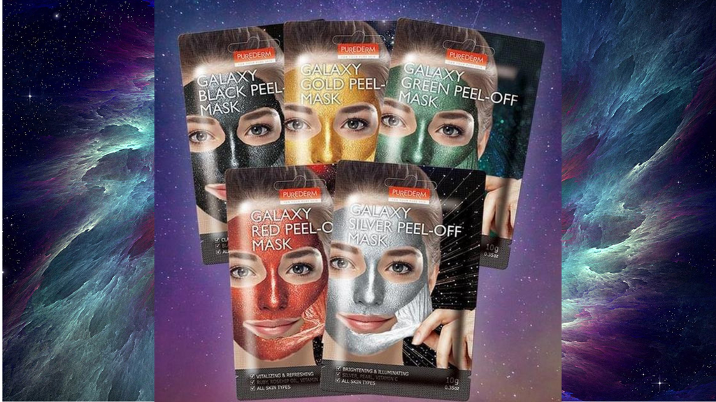 Purederm Galaxy Peel-Off Mask review