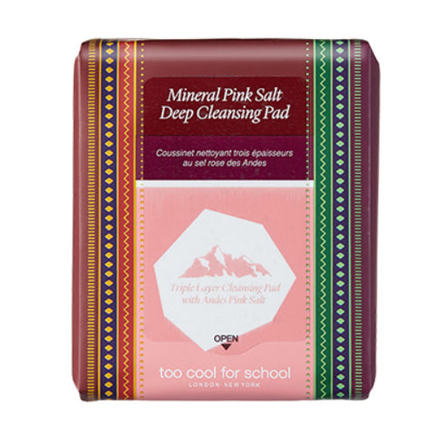 Too Cool For School Mineral Pink Salt Deep Cleansing Pad