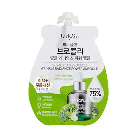 Ladykin Phytoplan Broccoli Wrinkle Radiance Power Ampoule