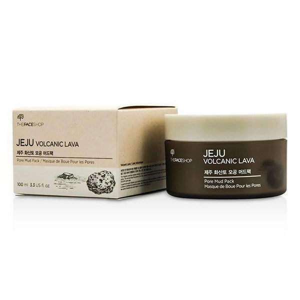 The Face Shop Jeju Volcanic Lava Pore Mud Pack