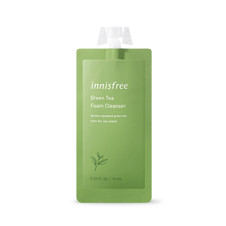 Innisfree Green Tea Foam Cleanser 7 Days