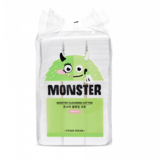 Etude House Monster Cleansing Cotton 408 pcs