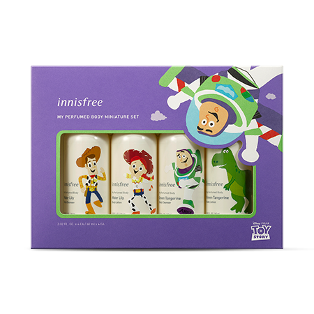 Innisfree X Toy Story My Perfumed Body Miniature Set