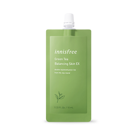 Innisfree Green Tea Balancing Skin Ex 7 Days