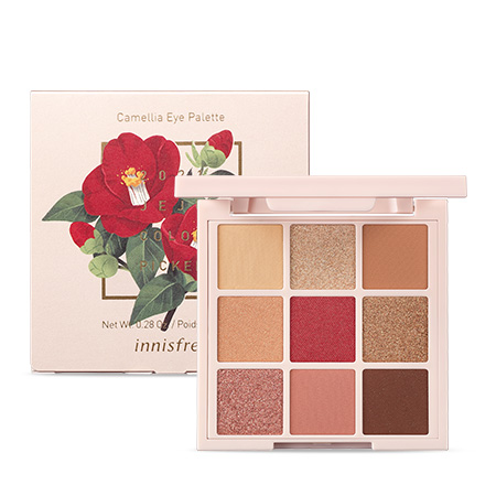 Innisfree Camellia Eye Palette (2021 Jeju Color Picker Camellia Edition)