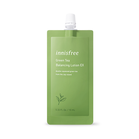 Innisfree Green Tea Balancing Lotion Ex 7 Days