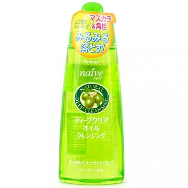 Kracie Natural Naive Natural Deep Cleansing Oil