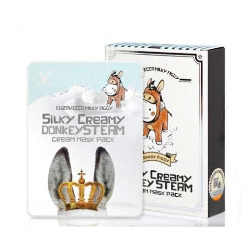 Elizavecca Donkey Steam Cream Mask Pack (10 masks)
