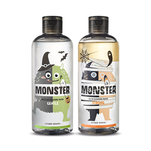 Etude House Monster Cleansing Water Duo Special Set (Halloween Edition)