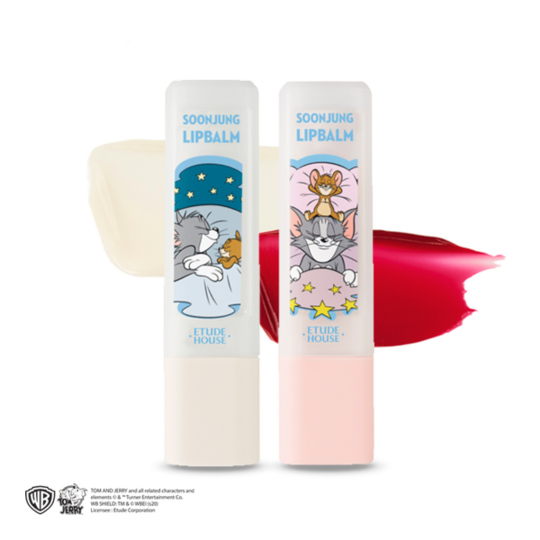Etude House Lucky Together Soon Jung Lip Balm [Tom&Jerry Edition]