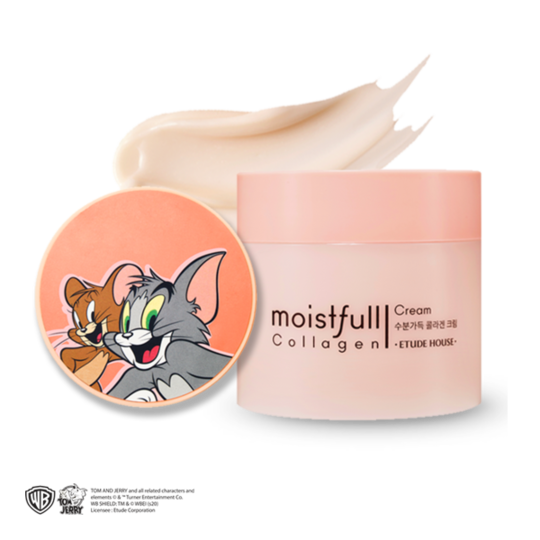 Etude House Lucky Together Moist Full Collagen Cream [Tom&Jerry Edition]