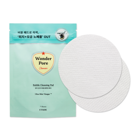 Etude House Wonder Pore Bubble Cleansing Pad