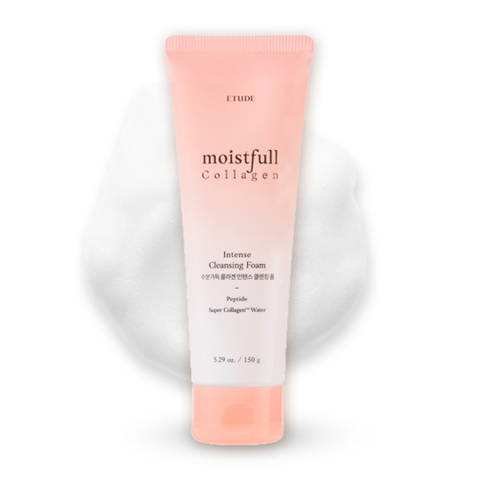 Etude House Moistfull Collagen Intense Cleansing Foam